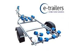 EXTREME 750kg Maxi Roller Jet Ski Boat Rib Trailer - up to 16ft dinghy / 14ft boats & Ribs to 5m